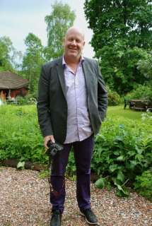 Magnus Utvik efter intervju hos Hans Scheike.